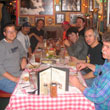 Photo of Music Teacher Appreciation Dinner - Teachers socializing over Italian food at Bucca di Beppo in Redondo Beach California
